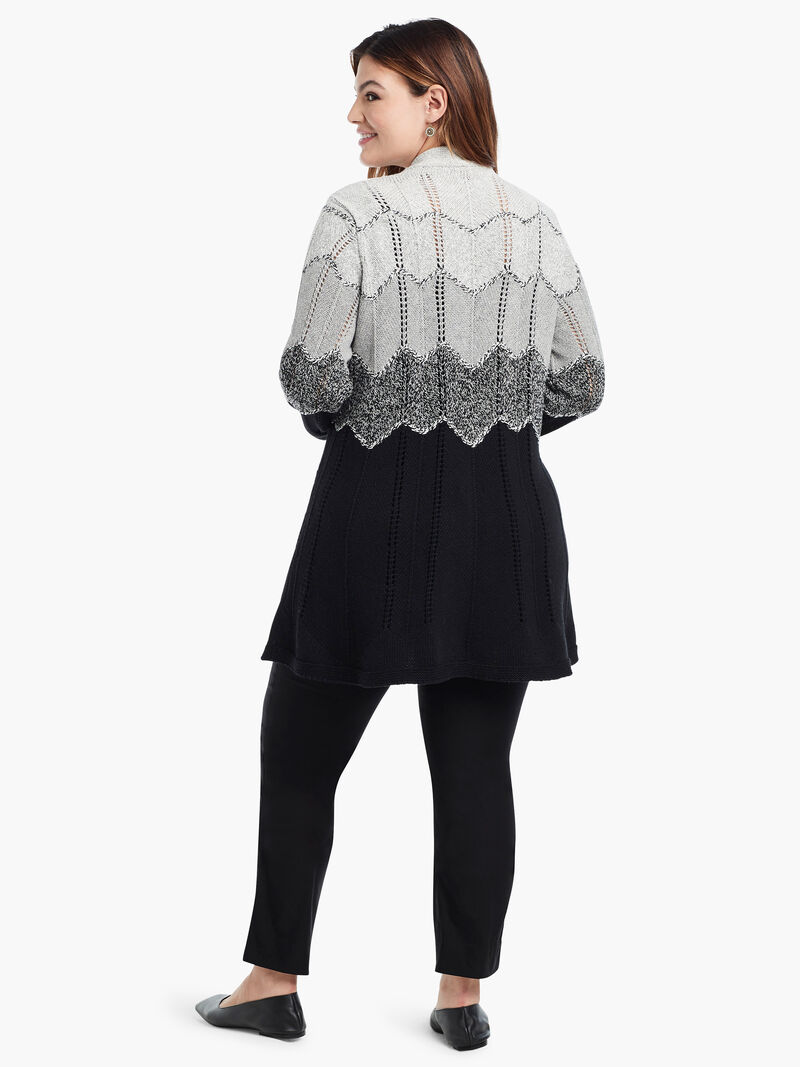 Ombre Twirl Cardigan image number 2