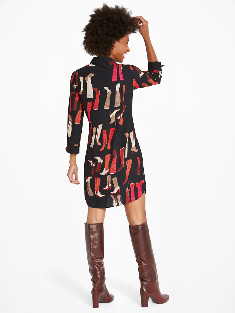 These Boots Shirtdress image number 2