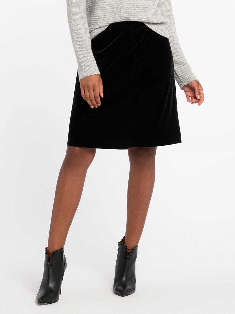 Darling Velvet Skirt image number 1