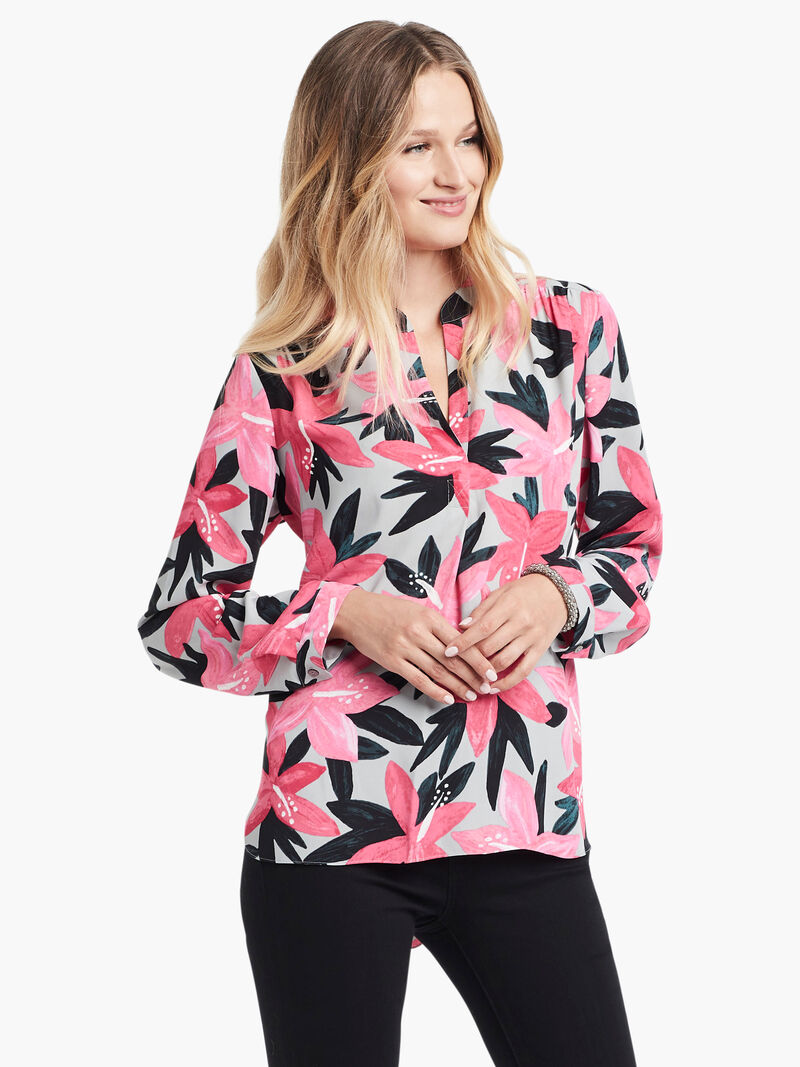 Poinsettia Blouse