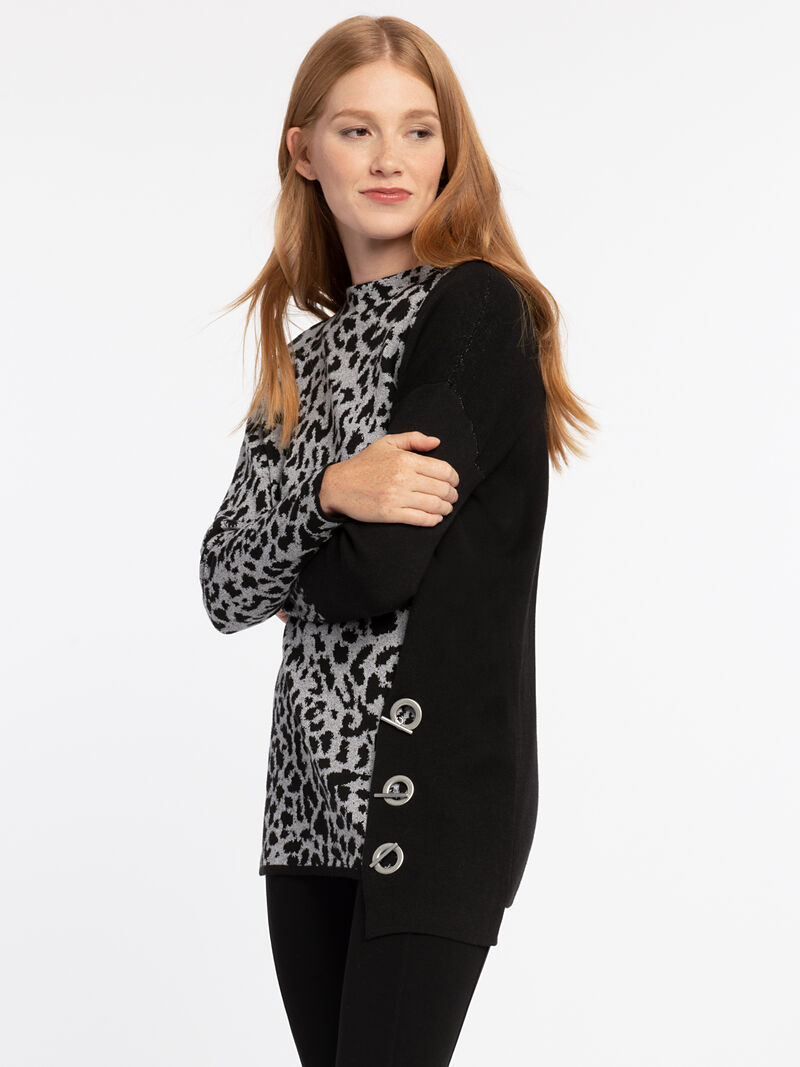 Spot On Toggle Sweater
