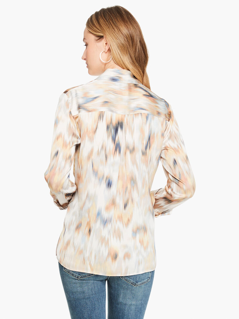 Dreamy Ikat Blouse image number 2