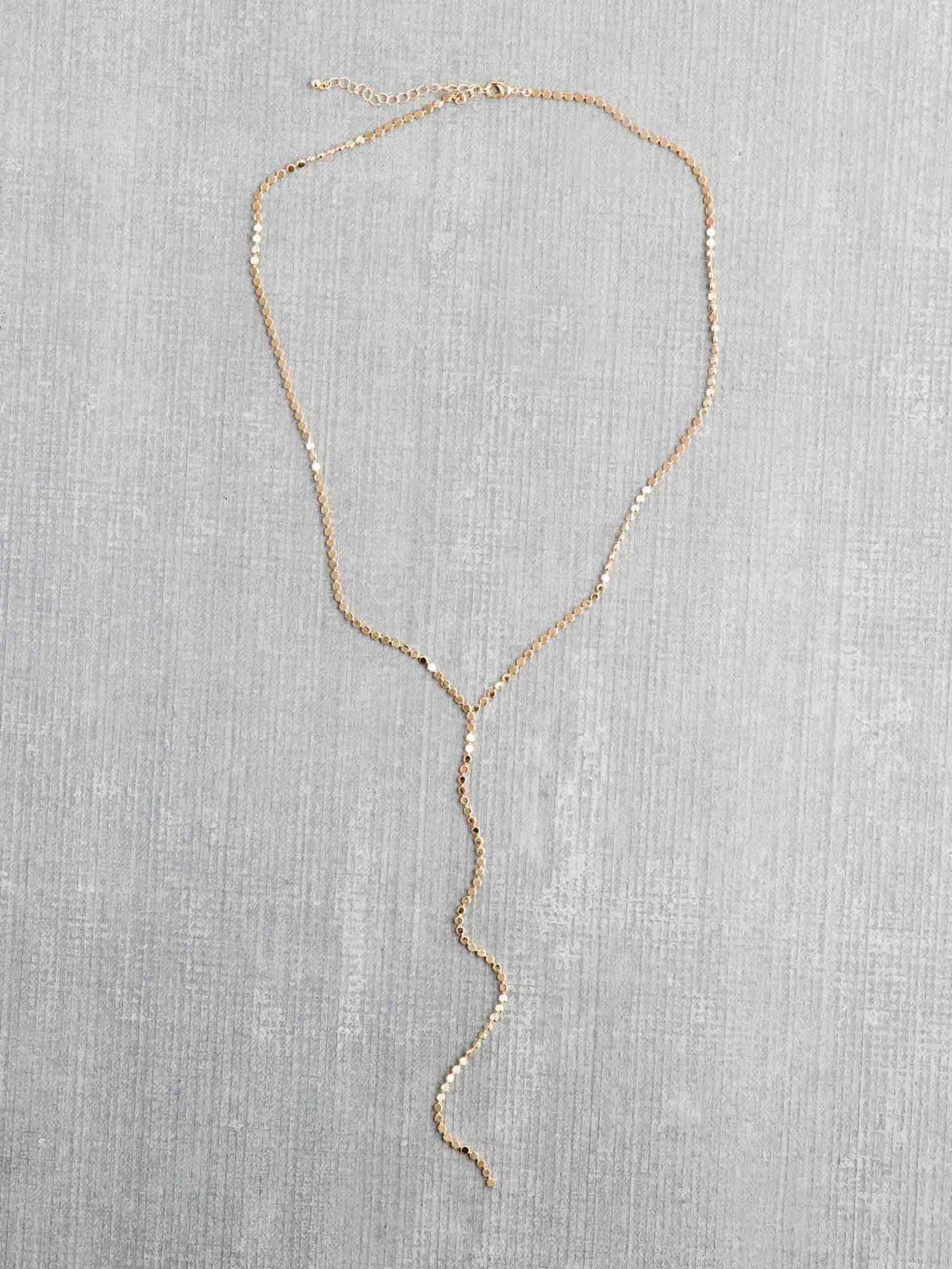 Marlyn Schiff Single Strand Y Necklace