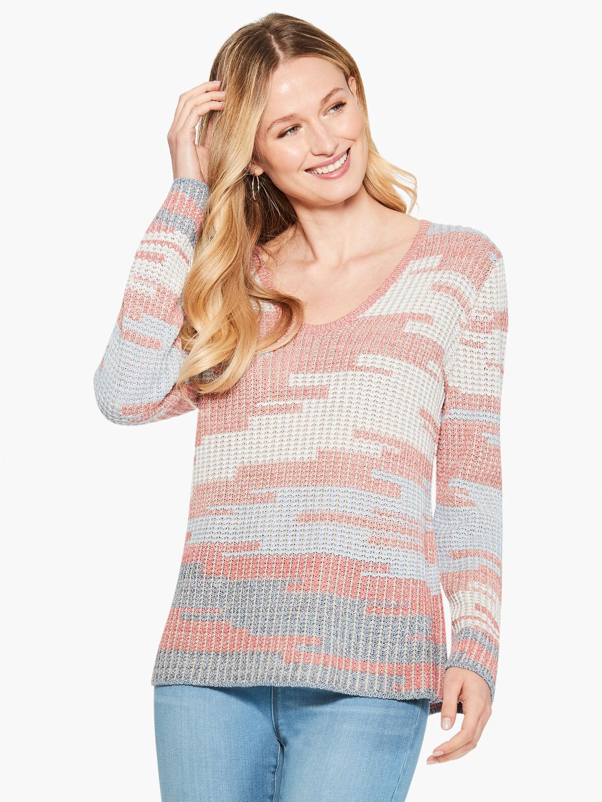 Terracotta Sky Sweater