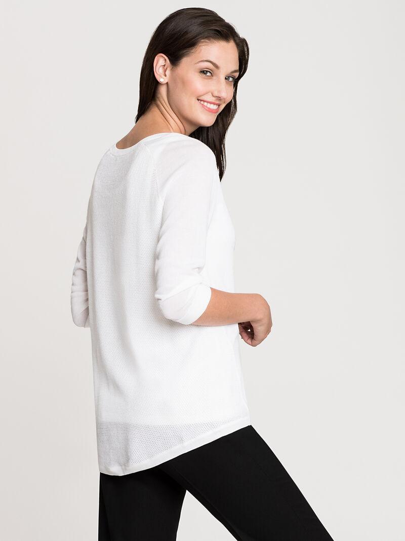 Sleek And Textured Top