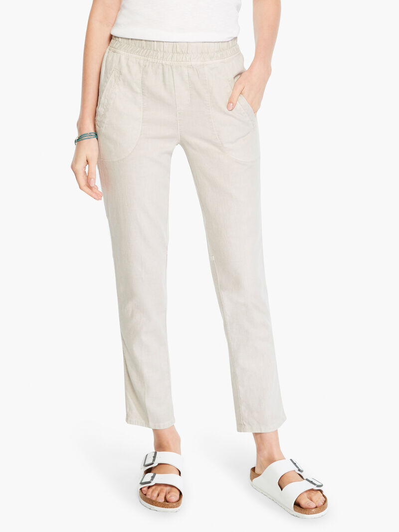 Linen Stretch All Around Pant
