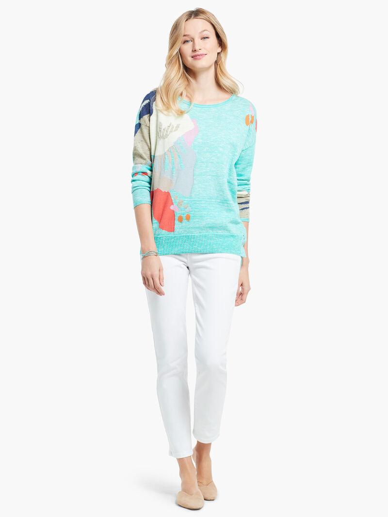 Petal Burst Sweater image number 3