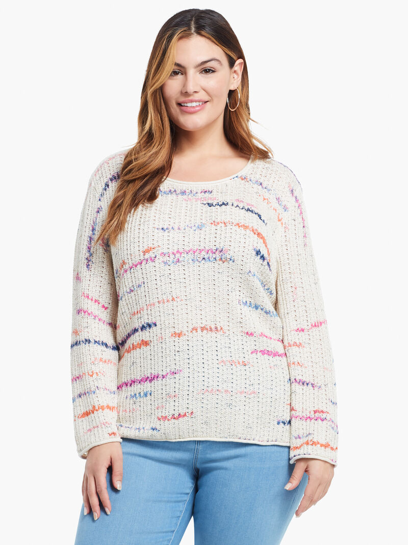 Sunset Stripe Sweater