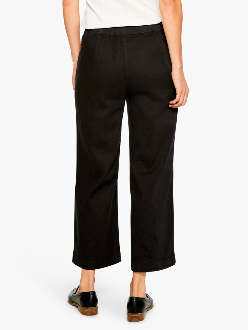 All Day Slim Wide Crop Pant image number 3