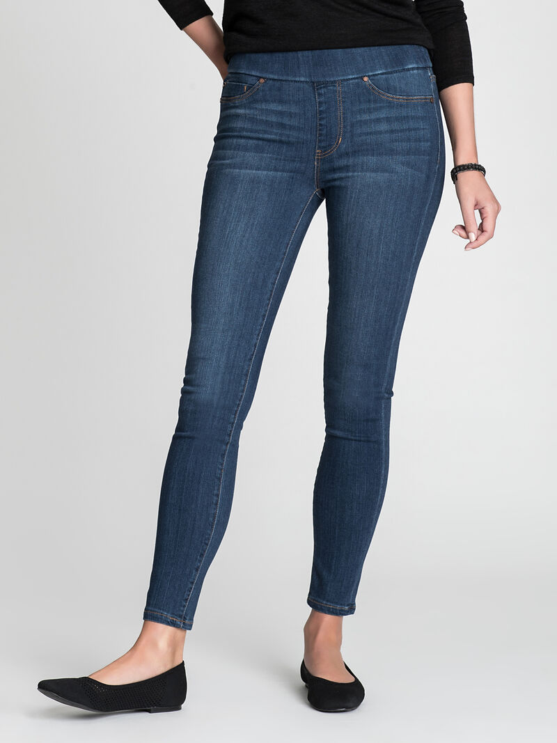 LIVERPOOL SIENNA PULL-ON ANKLE JEAN
