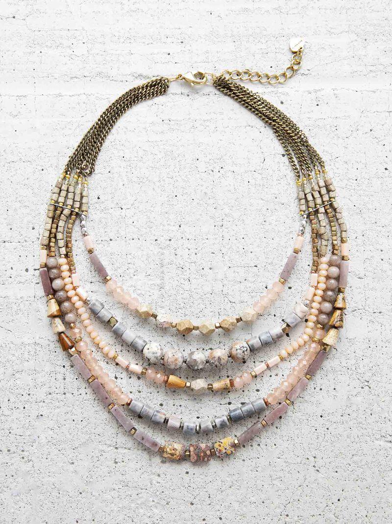 Nakamol Multi Strand Necklace