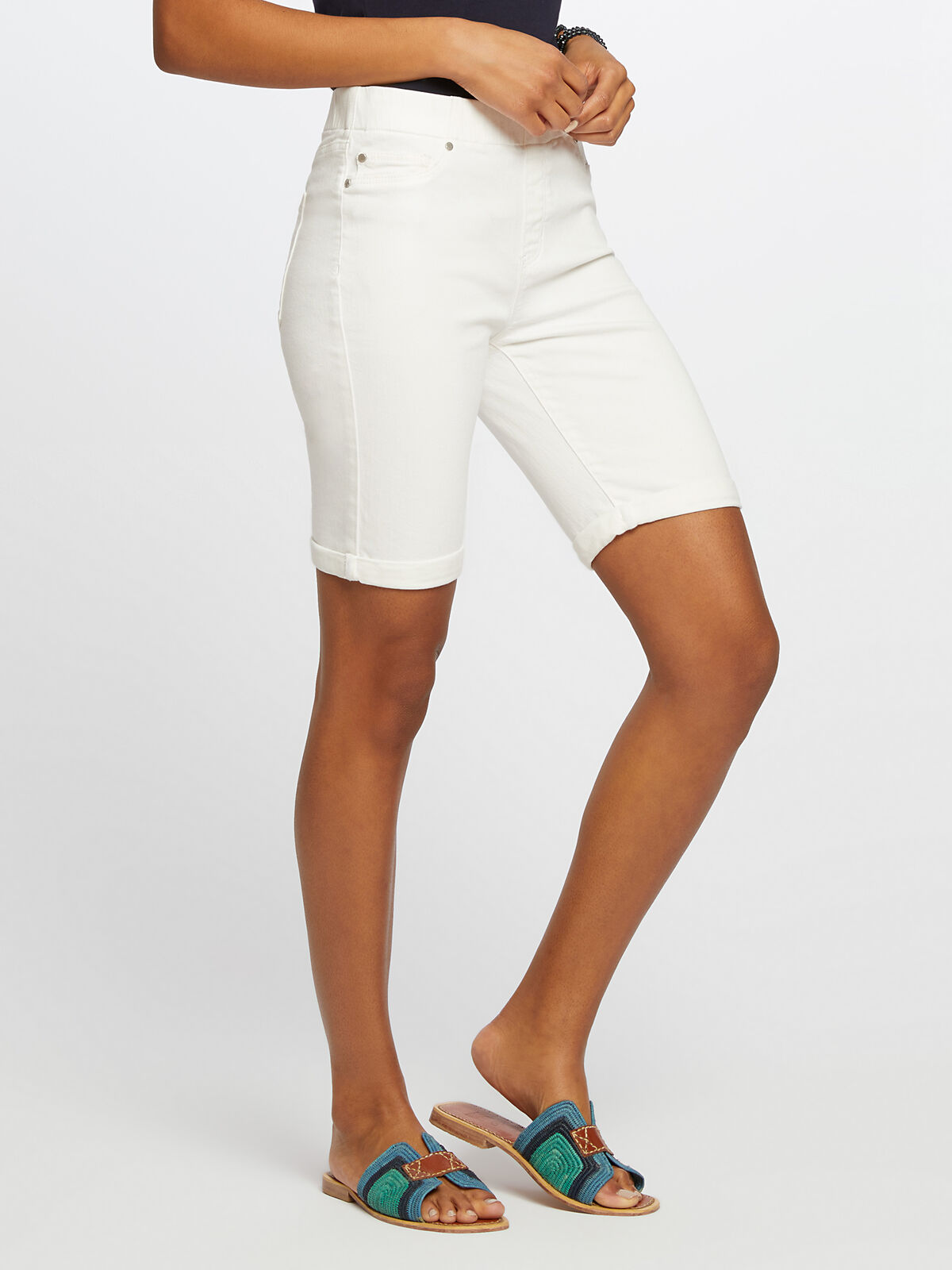 Liverpool - Chloe Pull-On Bermuda Short