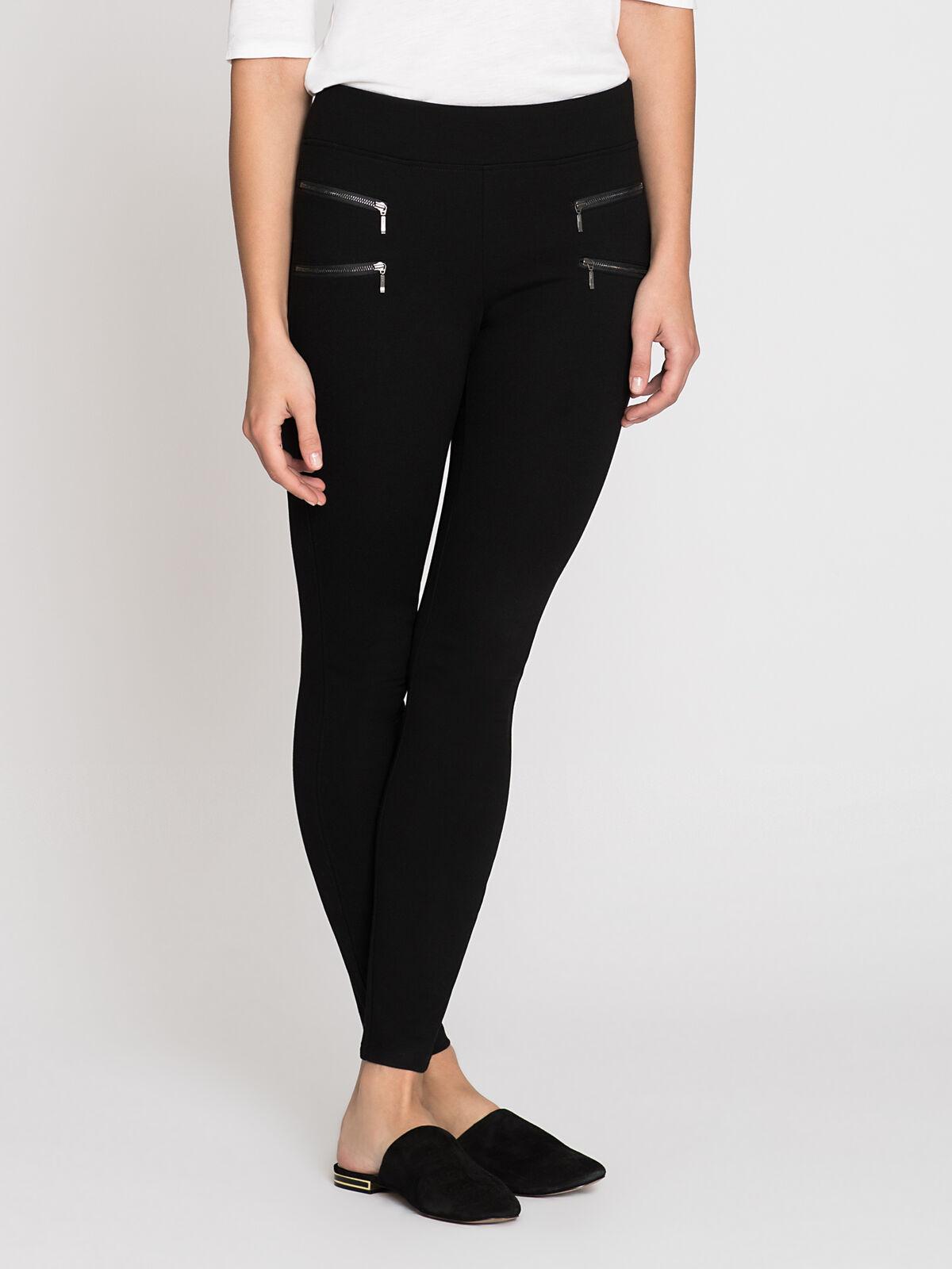 Double Zip Legging