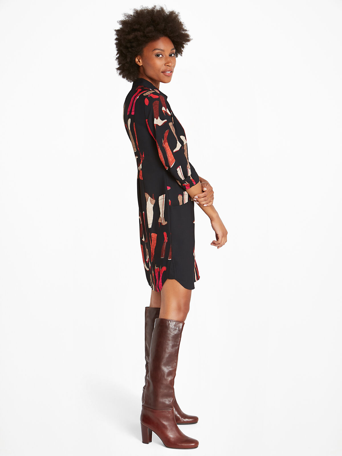These Boots Shirtdress