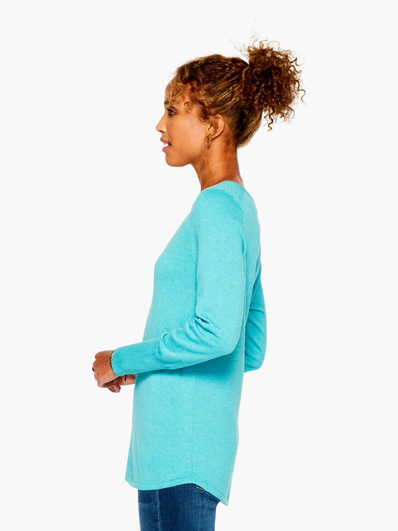 Vital V Neck Sweater