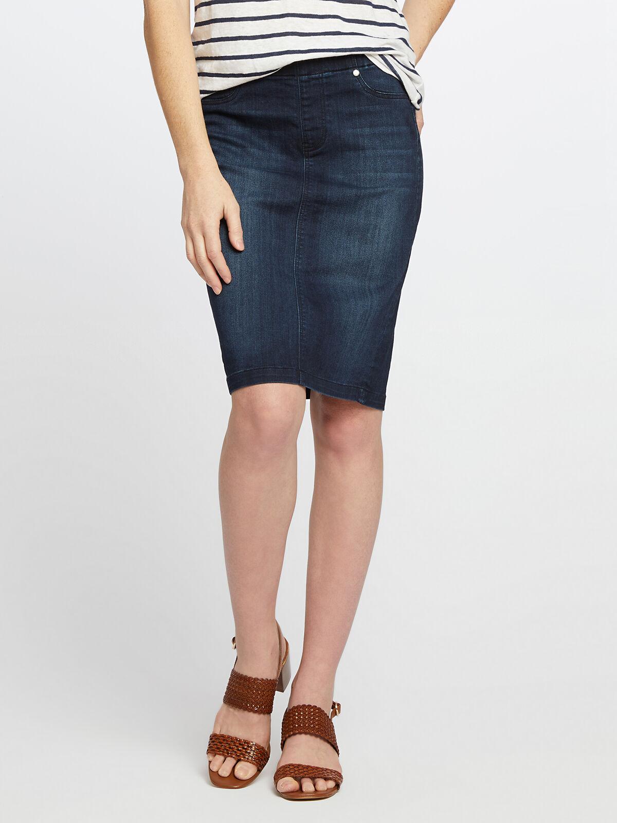 Liverpool - Pull-On Pencil Skirt