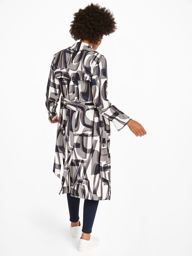 Alphabet Trench Dress image number 3