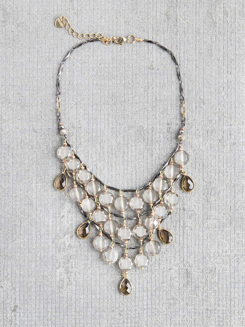 Nakamol Chandelier Statement Necklace image number 0