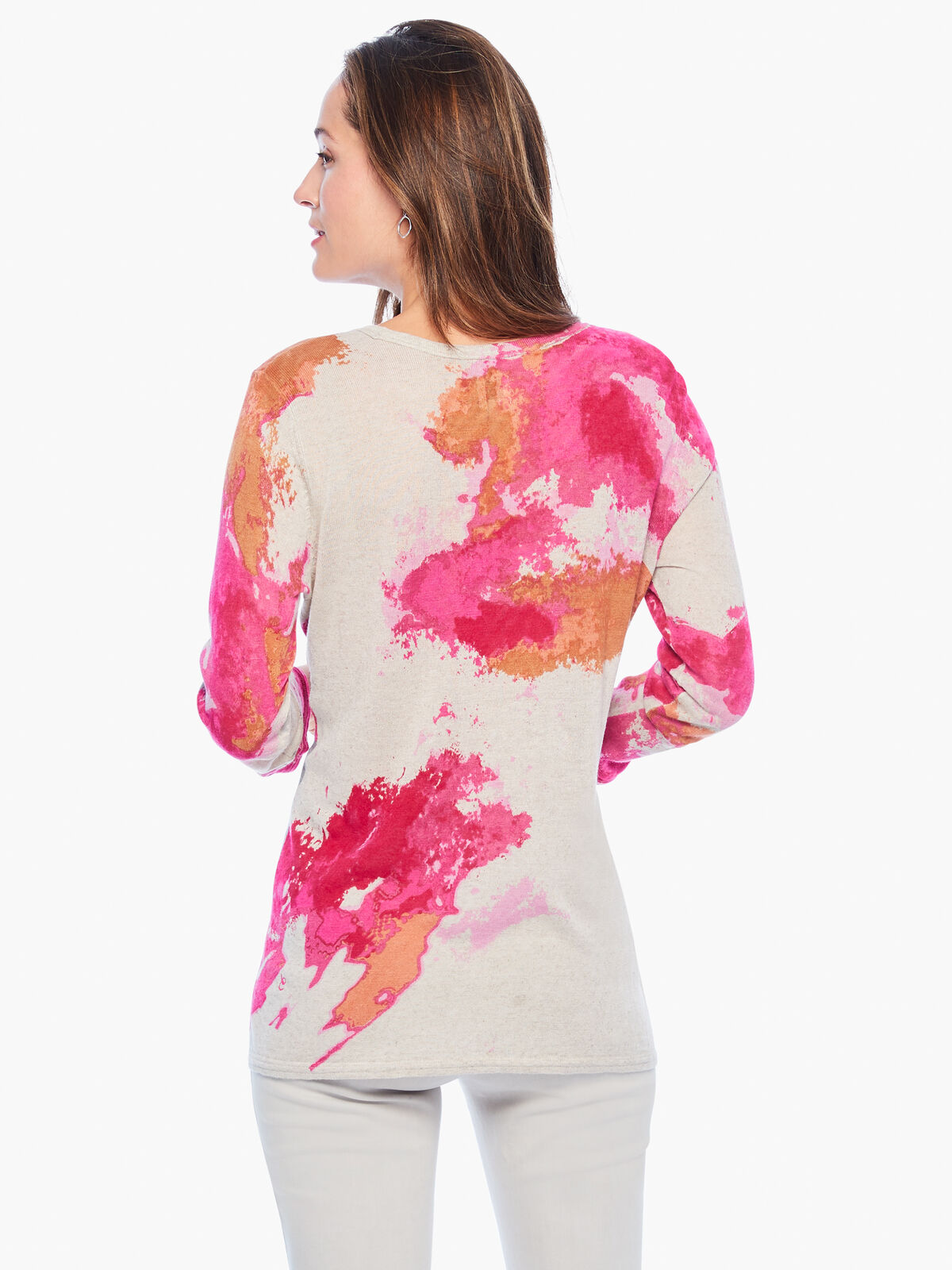 Sunset Blooms Sweater