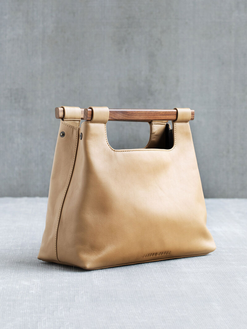 Payton James Wood Cut Out Tote
