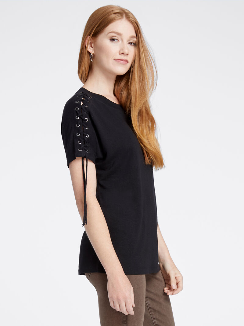 Laced Up Tee