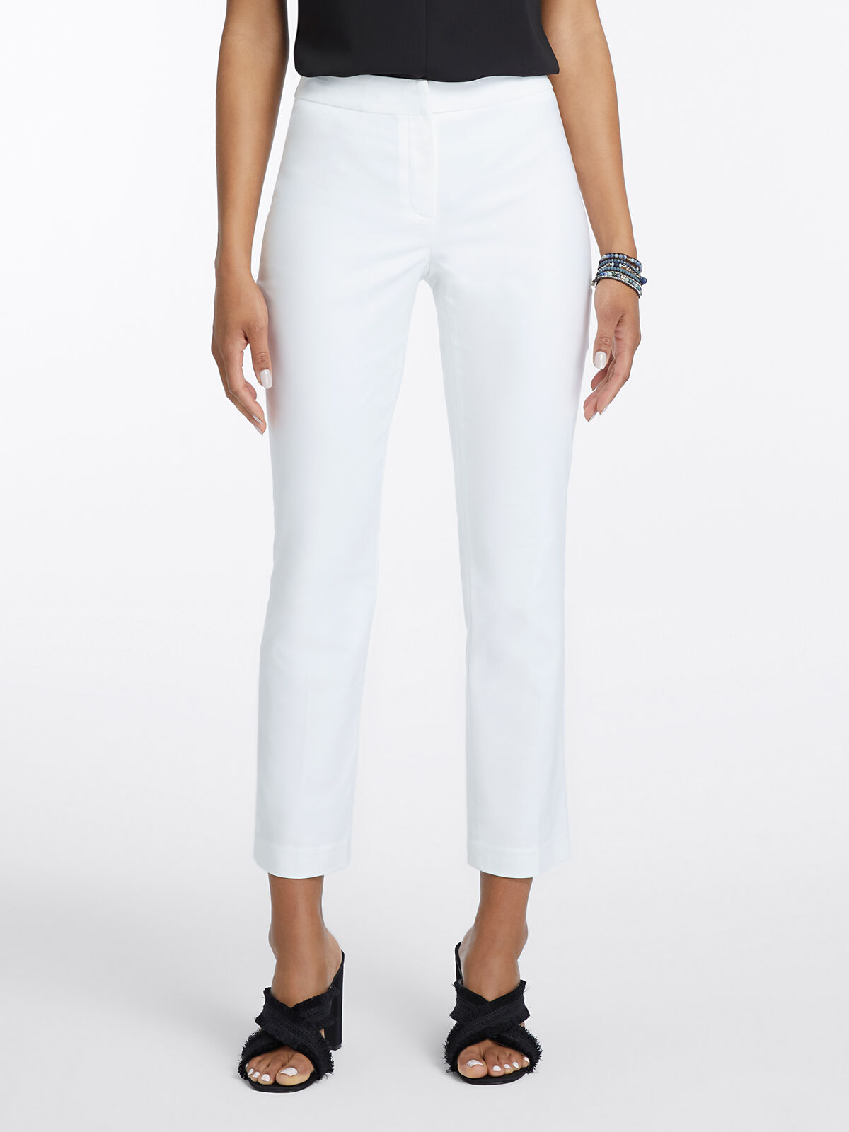 Perfect Pant Front Zip Ankle