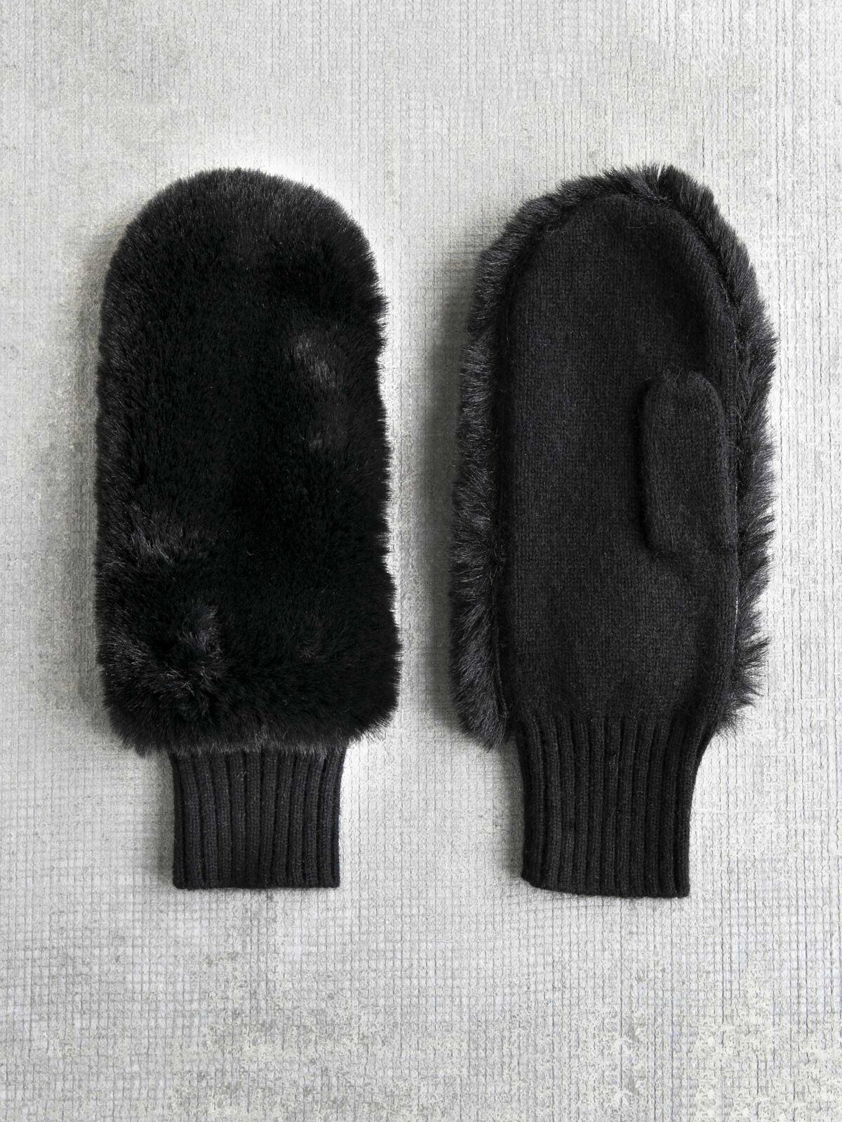 Amato Faux Fur Mitten