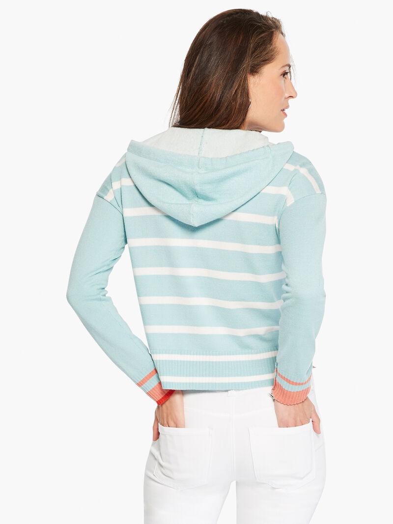 Soft Stripe Hoodie image number 2