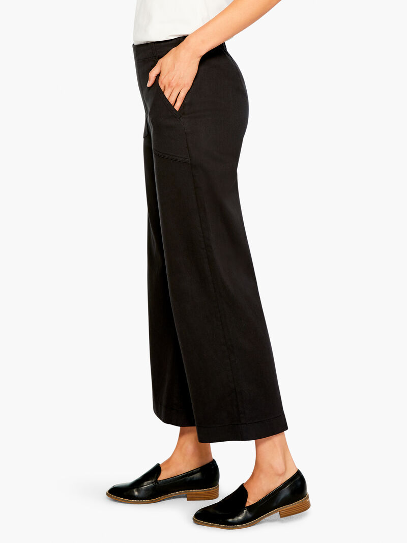 All Day Slim Wide Crop Pant image number 2
