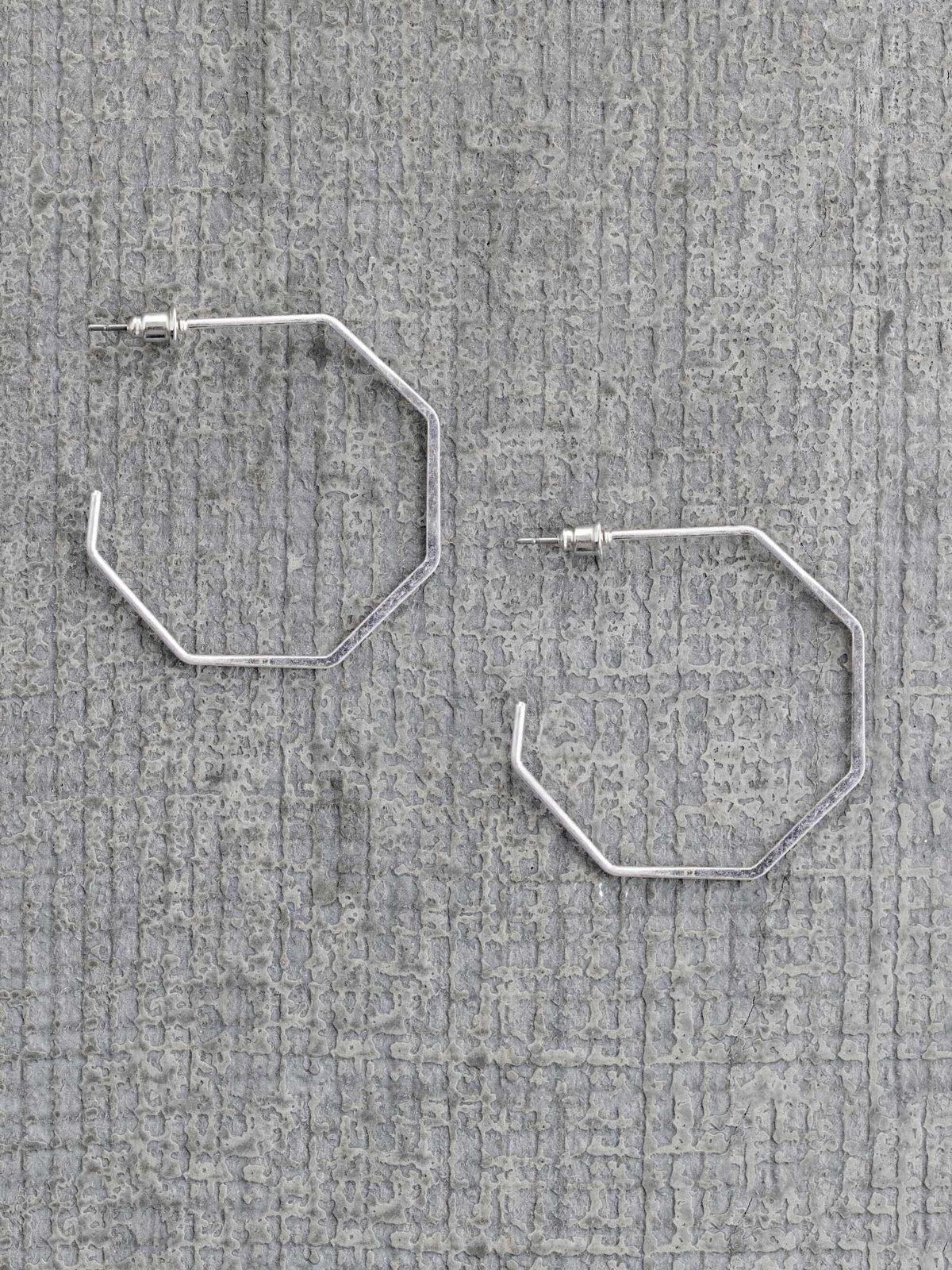 Marlyn Schiff Hexagon Hoop