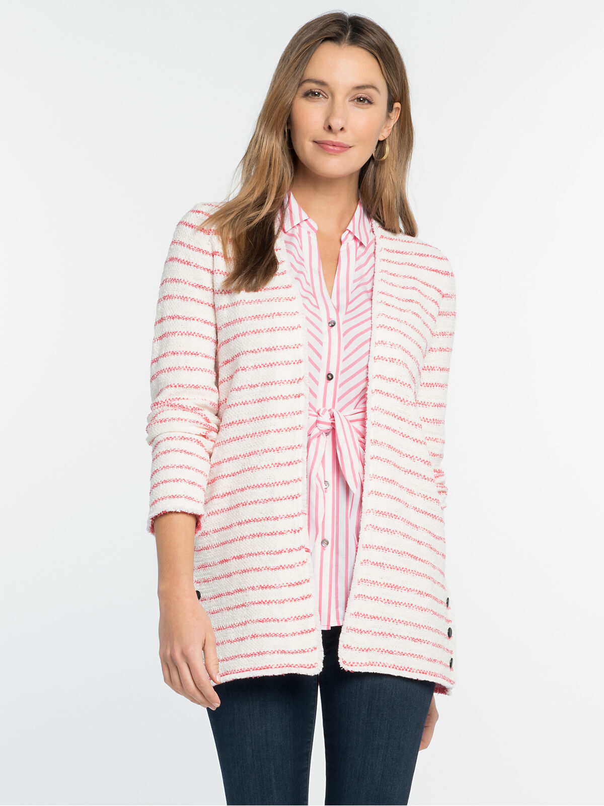 Atlas Stripe Jacket