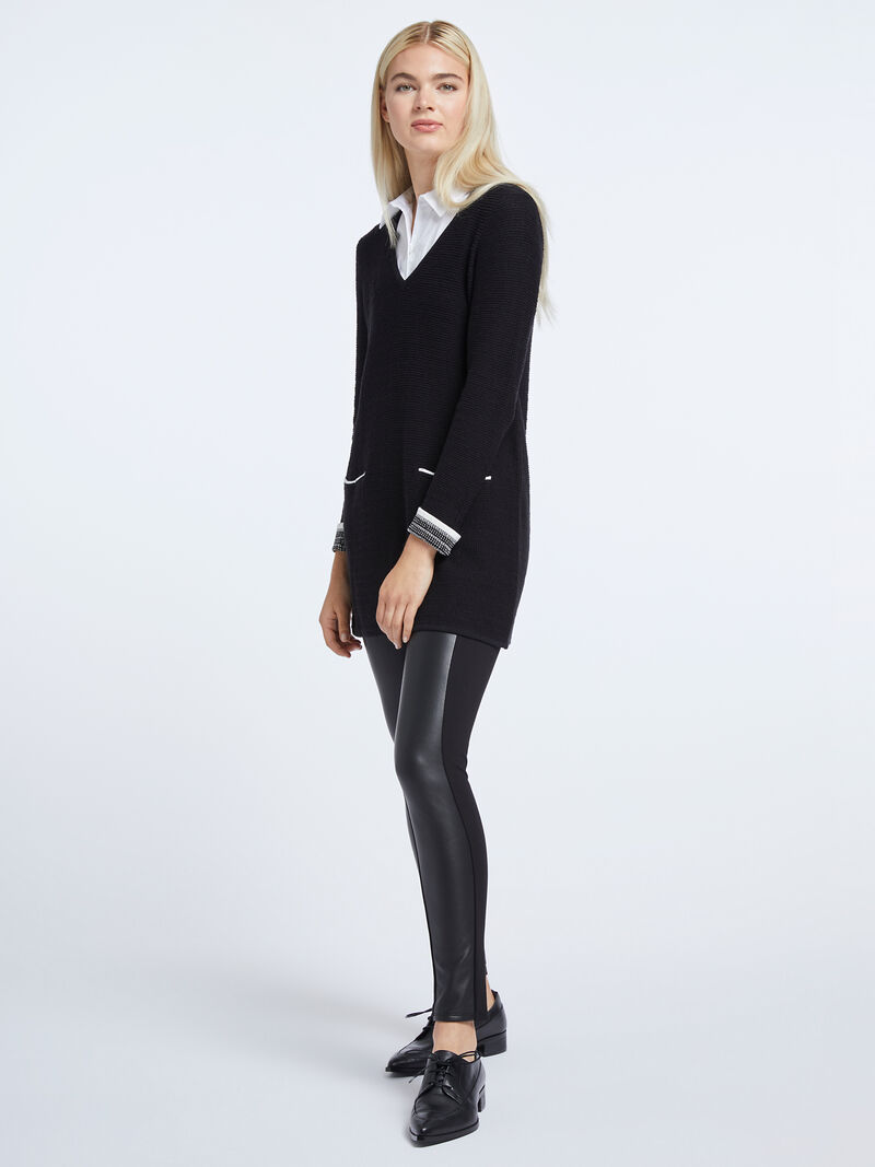 Don'T Think Twice Tunic Sweater image number 3