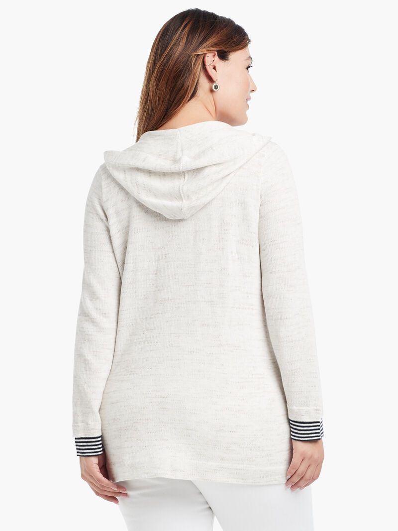 Lace Up Hoodie image number 2