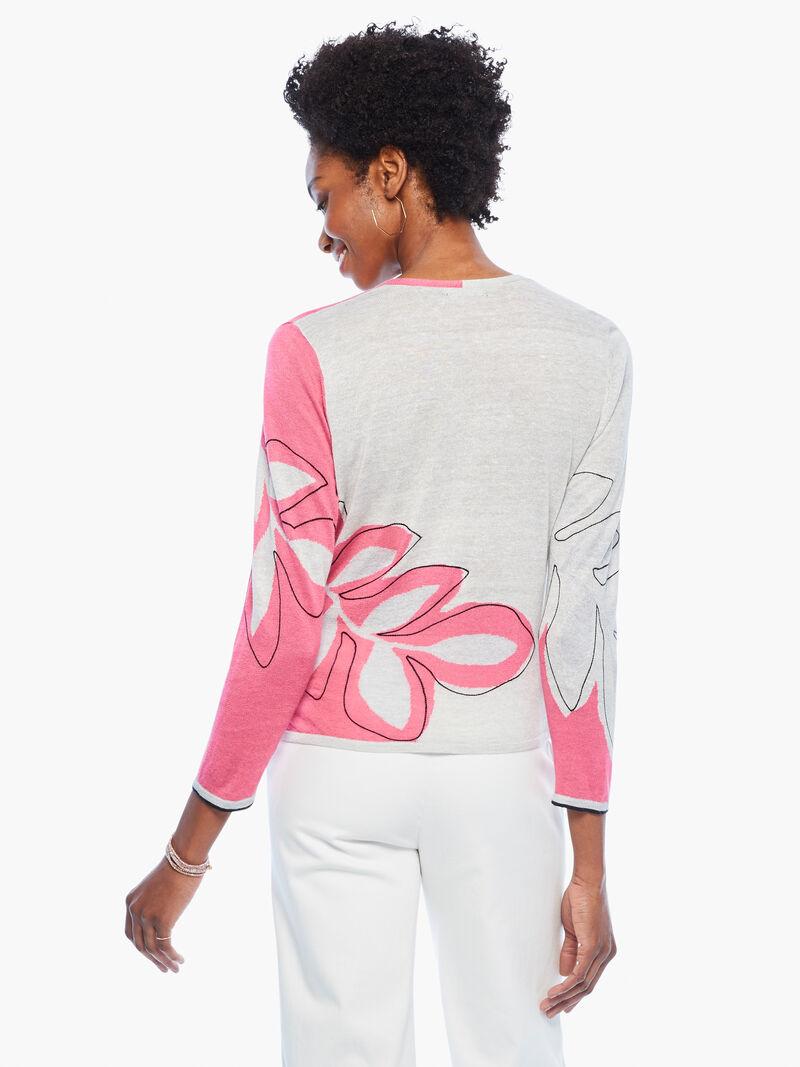 Hibiscus Tie Sweater image number 3