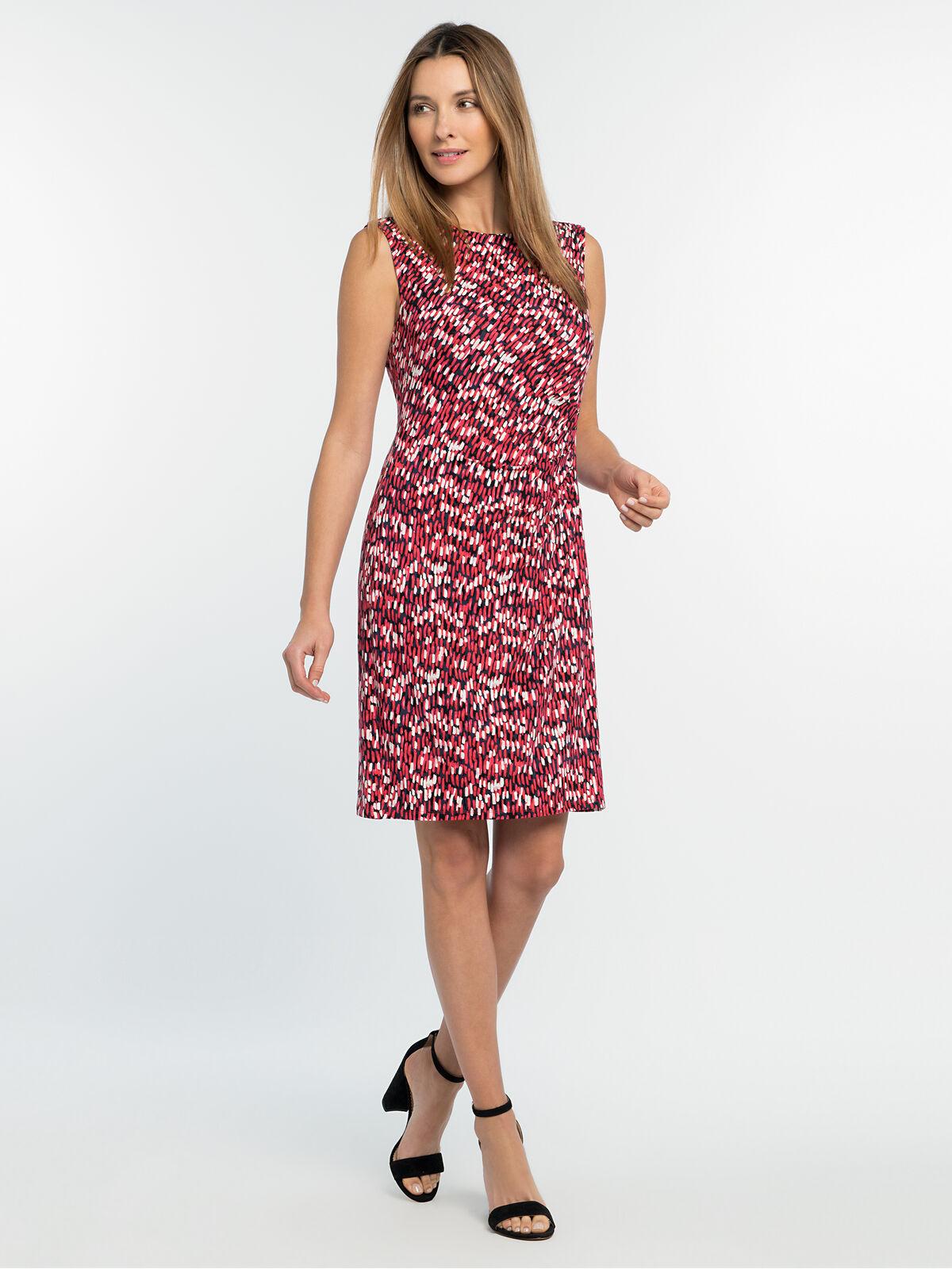 Bright Burst Twist Dress