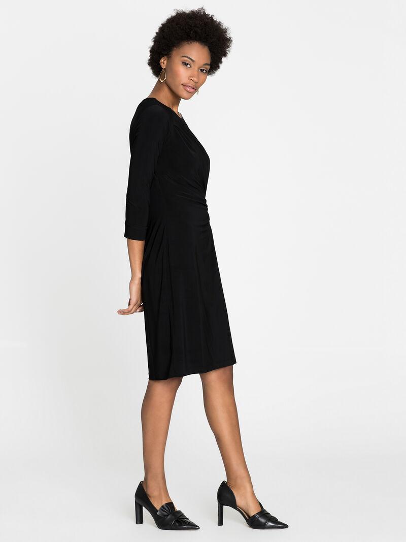 Sleeved Twist Dress image number 2