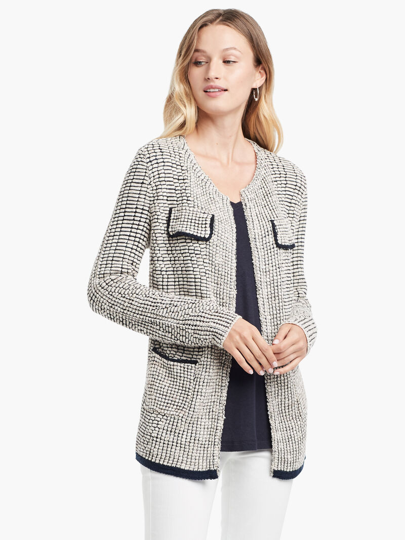 Textured Knit Jacket image number 0