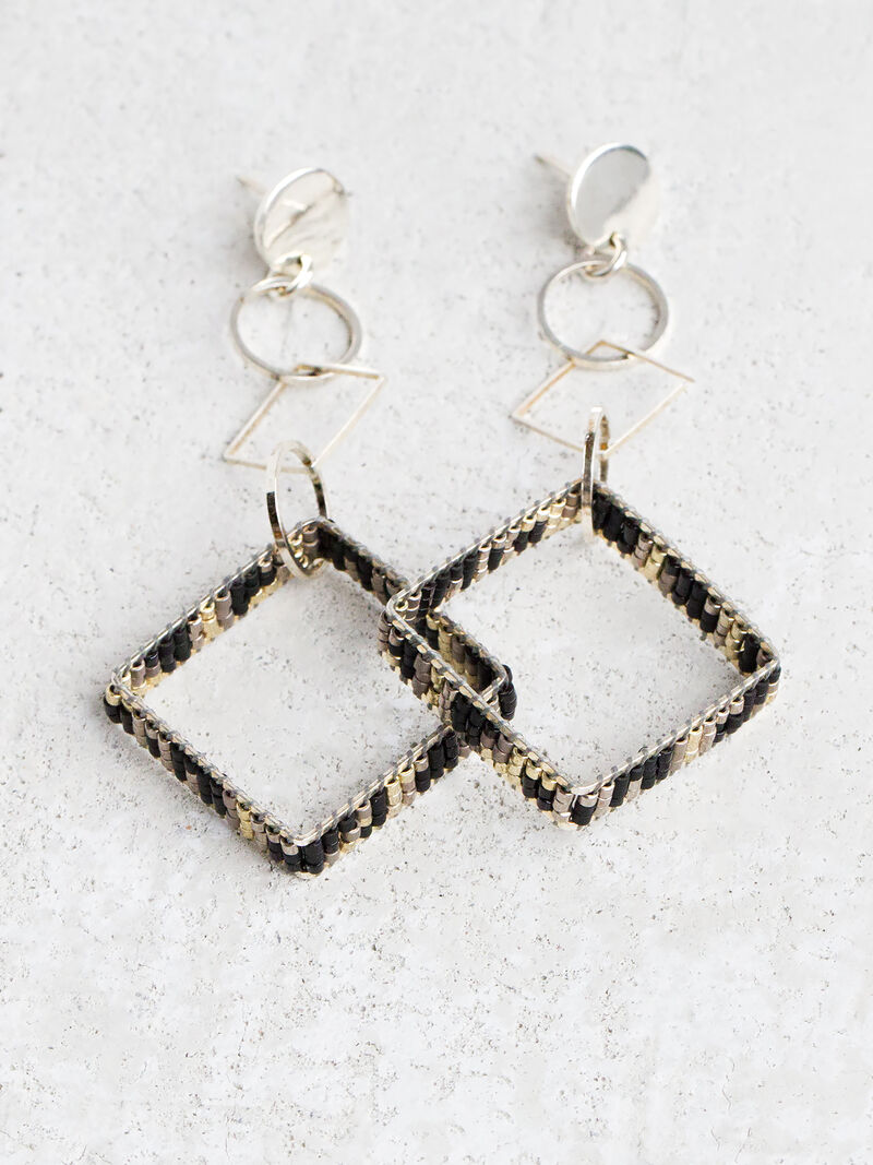 Square Earring image number 0