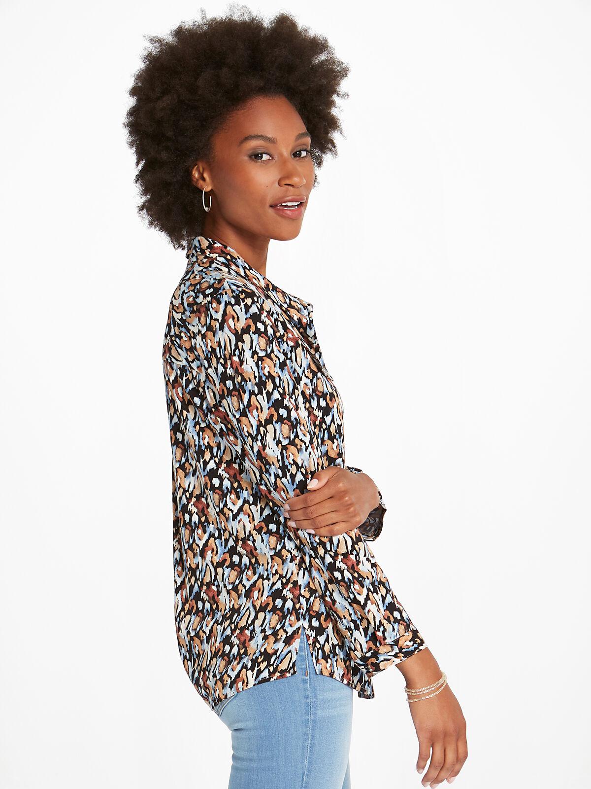 Painted Leopard Shirt