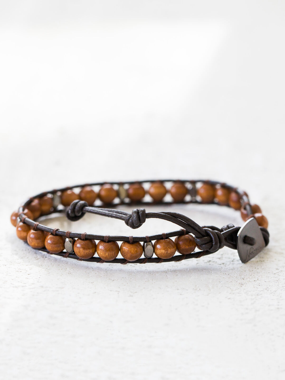 NAKAMOL Lyrah Gold Stone Bracelet