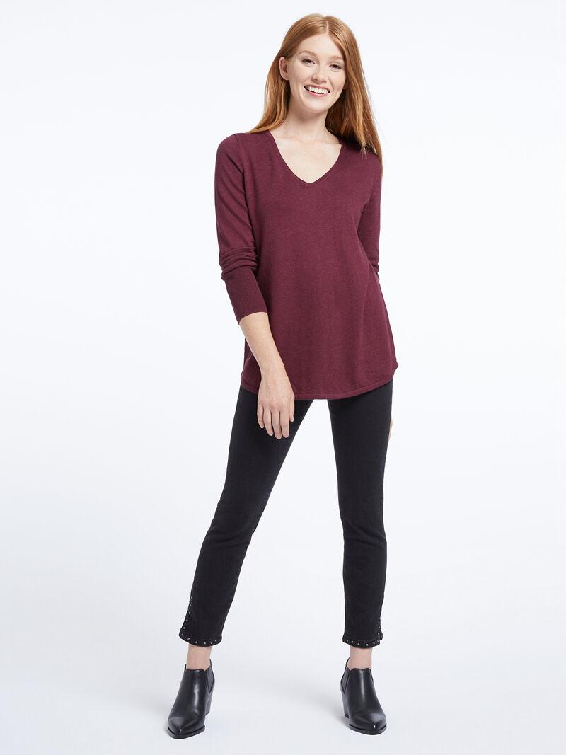 Vital V-Neck Sweater image number 3
