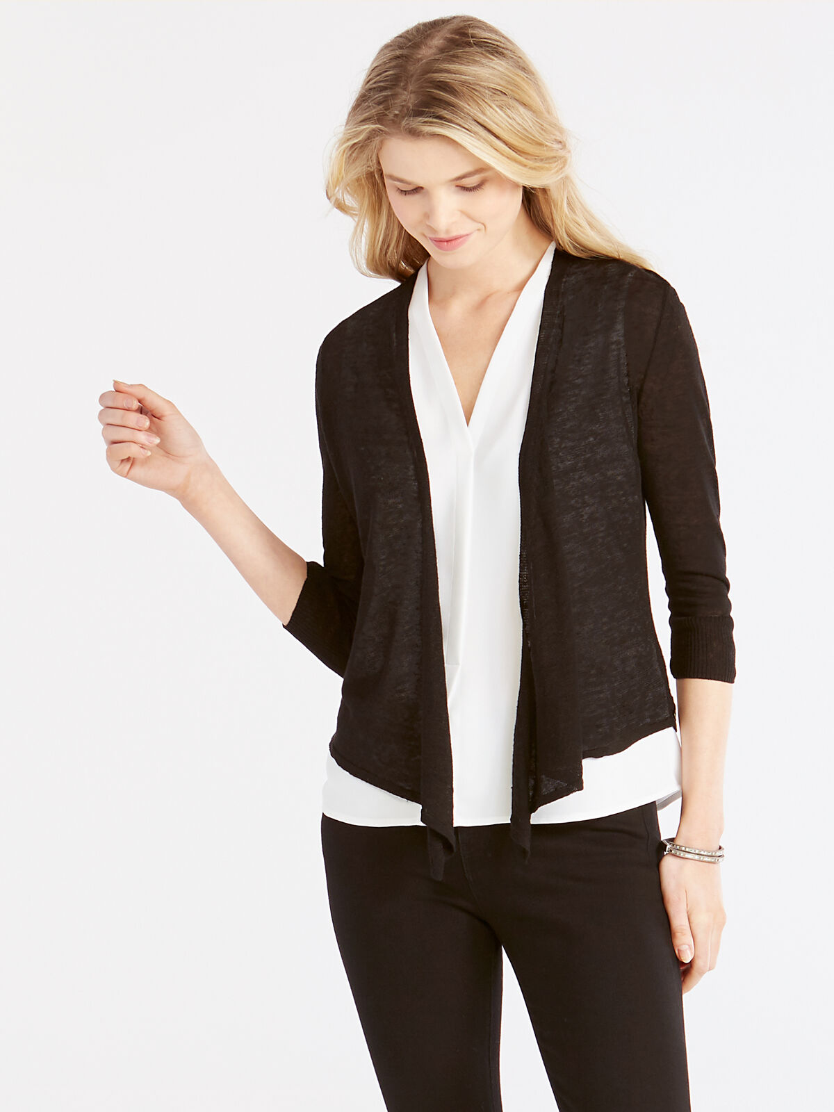 Lightweight 4-Way Cardigan