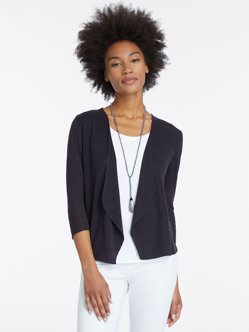 Lightweight Knit Blazer Cardigan