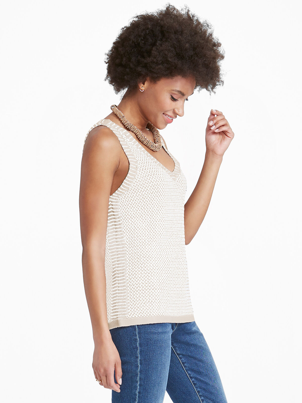 Saratoga Sweater Tank