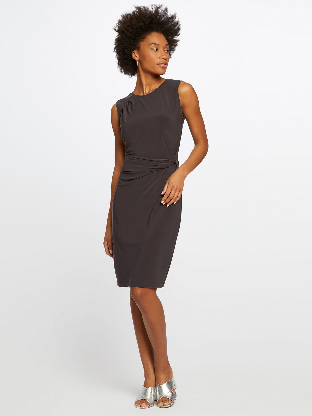 Luxe Jersey Twist Dress