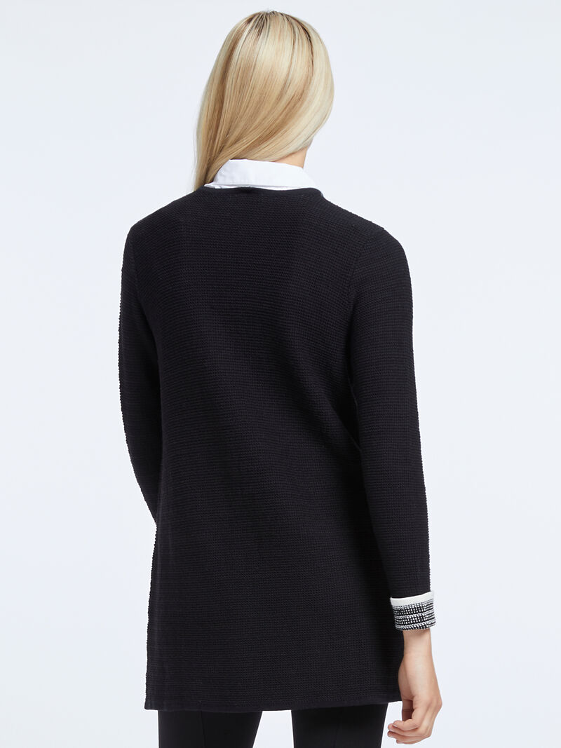 Don'T Think Twice Tunic Sweater image number 2
