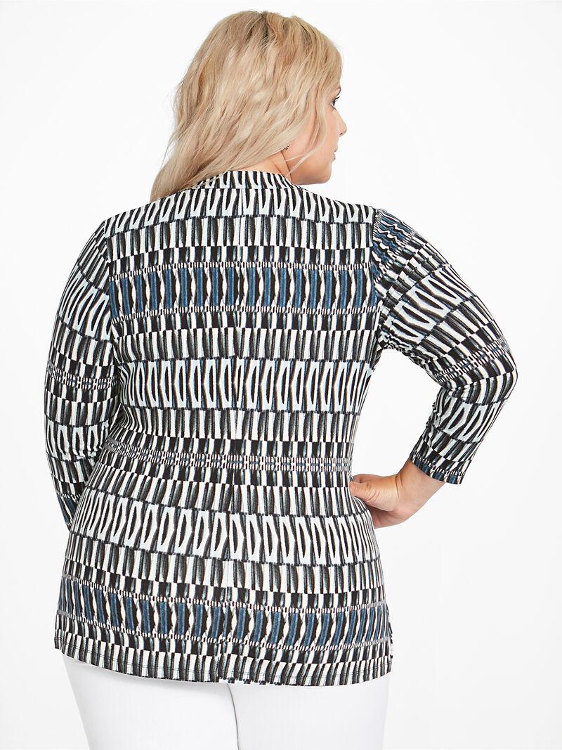 Batik Stripe Top image number 2