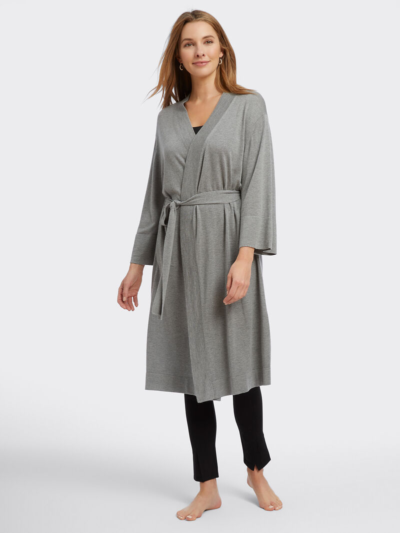 Naadam Cashmere Blend Robe image number 1