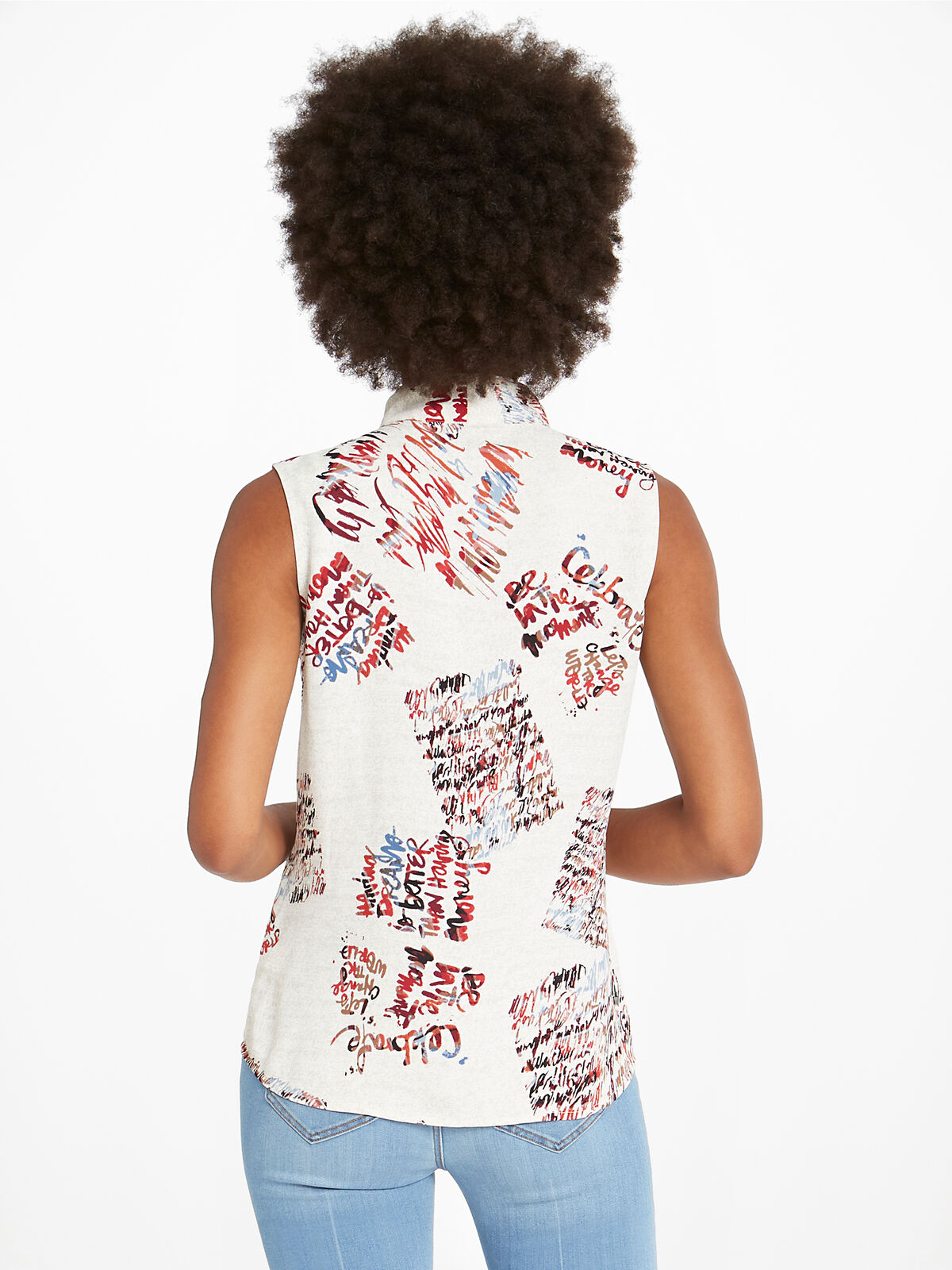 Scattered Letters Tank