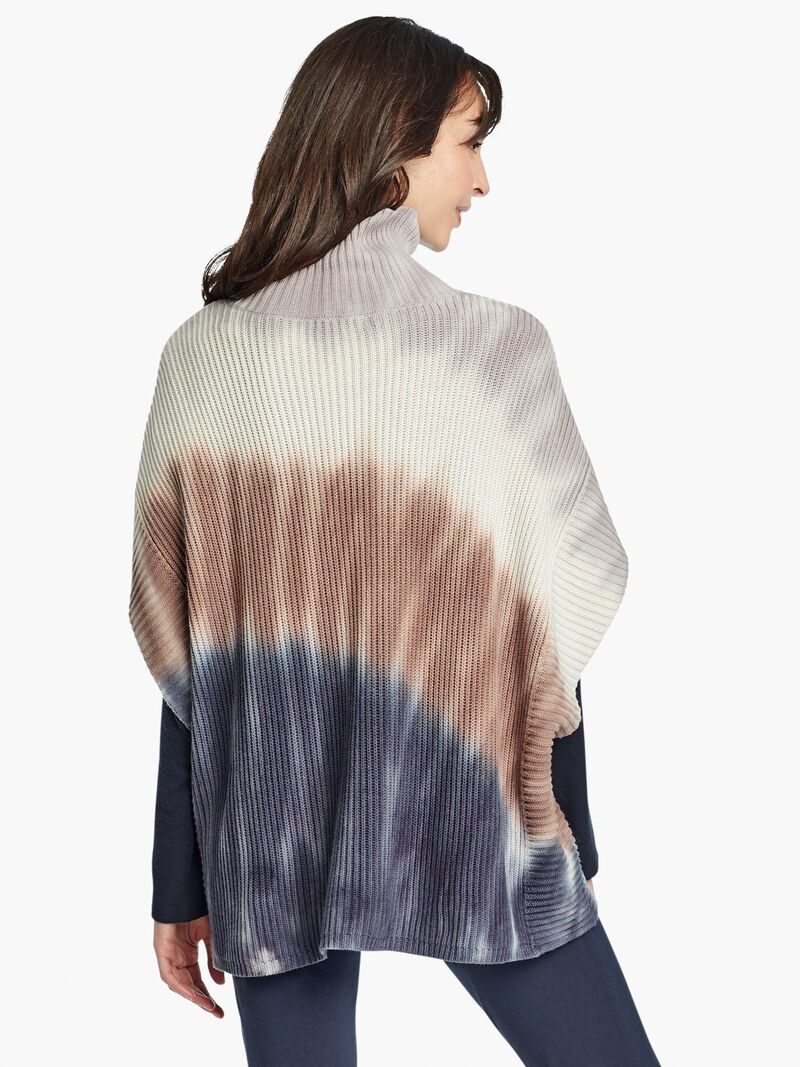 Cozy Fireside Poncho image number 3